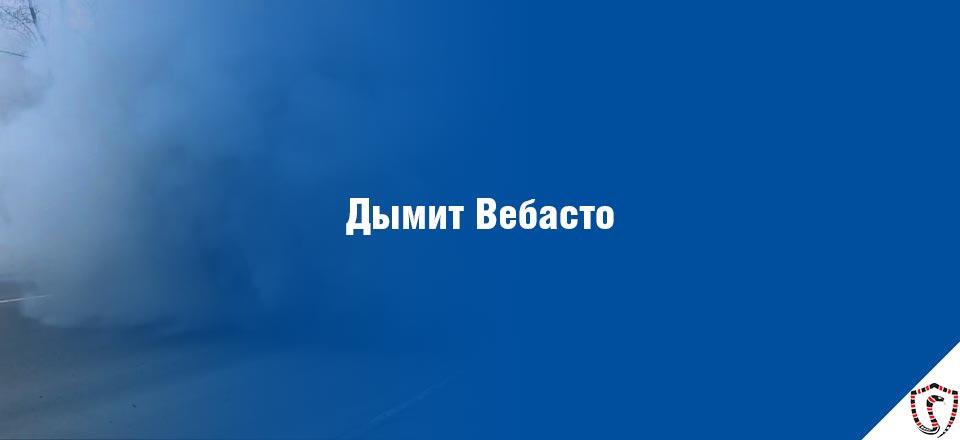 Дымит Вебасто