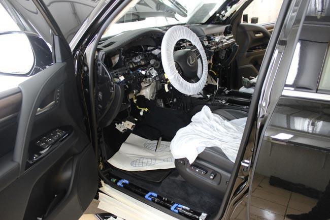 Защита Lexus LX от угона