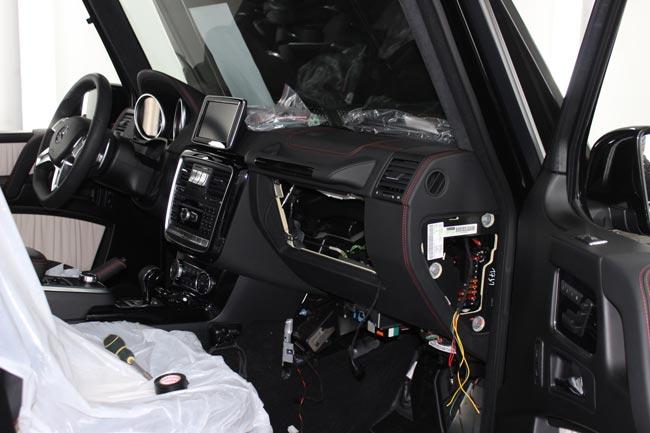 Защита Mercedes G от угона