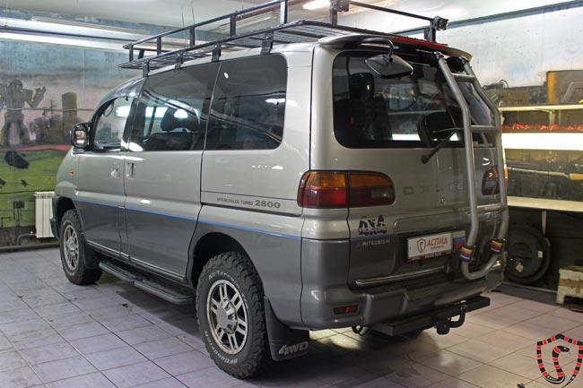 Установка Вебасто на Mitsubishi Delica